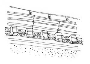 Corniche moulurée